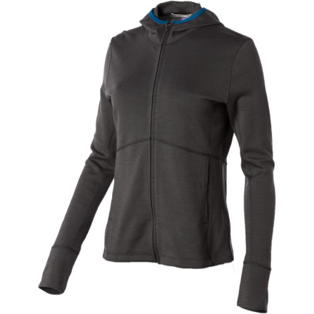 The Ibex Womens Shak Lite Hoodie gives you the performance of merino wool in a light, comfortable summer weight. The soft, lofty fabric keeps you cozy when the sun is still rising and breathes when it hits high-noon. - $97.47