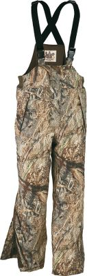 Hunting Updated with an improved fit and even more hunter-friendly features, this series still offers the same long-lasting value and quality you expect from Herter's. All pieces feature an iron-tough, 100% nylon Soft Taslan shell that's fully seam-sealed; coated with a durable water-repellent finish; and backed by a waterproof, breathable membrane for all-weather performance. 150-gram Thinsulate Insulation offers warmth and nonbulky freedom of movement. The bib have a full-zip front and zip-to-thigh legs for easy on and off. Two handwarmer pockets. Imported. Sizes: M-3XL. Camo patterns: Realtree MAX-4 , Mossy Oak Duck Blind . - $139.99