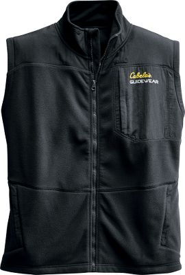 Layered or worn alone, the Mens River Runner Vest delivers superior comfort and warmth. Crafted of wind-cutting Polartec Wind Pro polyester fleece and polyurethane-coated nylon. Zippered chest pocket and polyester-tricot-lined pockets. Imported.Sizes: M-3XL.Colors: Halibut, Black, Night Sky. Type: Vests. Size: X-Large. Color: Black. Size Xl. Color Black. - $22.49
