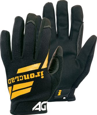 Great all-around duty gloves. One-piece synthetic leather palms enhance grip. Reinforced saddles and thumbs for added strength. Airprene wrist closures provide a secure fit. Some of the best uses for these gloves include but are not limited to: home; shop; light construction; maintance; transportation; landscaping work. Imported. Sizes: S-2XL. Color: Black. Size: S. Color: Black. Gender: Male. Age Group: Adult. Type: Gloves. - $7.88