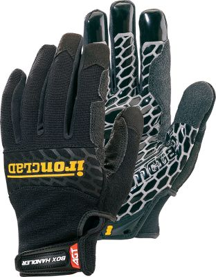 Made of breathable Airprene fabric with Diamondclad silicone-fused palms for the ultimate grip. Reinforced saddles and thumbs. Terry-cloth sweat wipe on the back of thumbs. Some of the best uses for these gloves include but are not limited to: industrial package handling and delivery; automative repair; glass, metal ceramic handling; hand and power tool operation. Imported.Sizes: S-2XL.Color: Black. - $29.99
