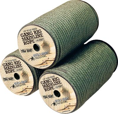Hunting Long-lasting, solid-braid polyester rope is easy to handle and rig. 150-ft. spool. Type: Decoy Lines. - $17.88
