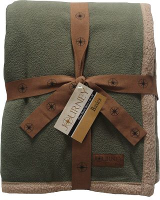 Guns and Military Add a splash of color to your favorite sofa. The inviting fleece front and high-pile Sherpa fleece backing are plush, soft and extra warm. 100% polyester. Machine washable. Imported. Size: 50 x 70. Colors: Chocolate, Green, Scarlet, Navy. - $29.99