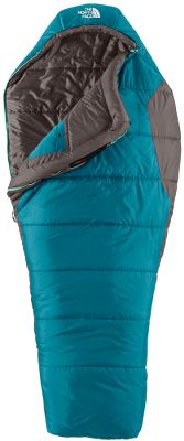 Camp and Hike Three-season sleeping bag crafted to better fit the female form. This bag is narrower at the shoulders and wider at the hips to prevent unnecessary air circulation and reduce bulk. There is also additional insulation around the chest and feet to ensure optimal warmth. Engineered for temperatures down to 20F. Filled with cozy Heatseeker insulation. Soft and comfortable ripstop polyester shell. Internal pocket keeps valuables close by. Comes with stuff sack. Imported. - $65.40
