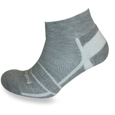 Fitness The Balega Enduro II Low socks offer impact-resistant cushioning in a low-cut silhouette. DryNamix Moisture Management technology facilitates rapid moisture evaporation and free airflow movement so your feet stay cool, dry and happy. V-Tech arch support system provides a structured fit that's not too tight, but just right. Specially constructed mesh ventilation panels keep feet cool and dry. Hand-linked seamless toes for seam-free comfort. Extra-deep heel pockets ensure Balega Enduro II socks fit the feet perfectly and don't slide down during your run. Technical performance yarn developed and produced in the United States. *Discount will be applied when you check out. Offer not valid for sale-price items ending in $._3 or $._9. - $6.93