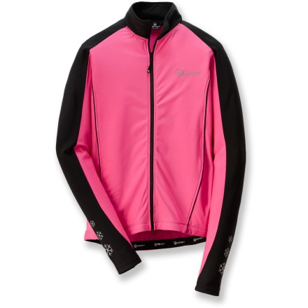 Fitness The Canari Flurry Bike jersey is made for cold-weather rides. - $34.73