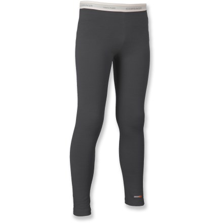 Camp and Hike The Icebreaker Bodyfit 200 Merino wool leggings are a comfortable layer of clothing for cold days of biking, hiking, snow sports and everyday use. - $24.83