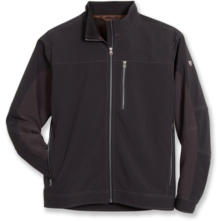 The Kuhl Impact is a windproof, highly water repellent jacket with casual, moto-inspired styling. - $73.83