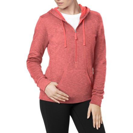 Fitness The lucy Sexy Sweat Half-Zip top offers the perfect soft and comfortable feel for the yoga studio. - $38.83