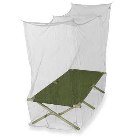 Camp and Hike The Mombasa Travel Outback Travel Net is a light, inexpensive way to protect yourself from mosquitoes. - $14.00