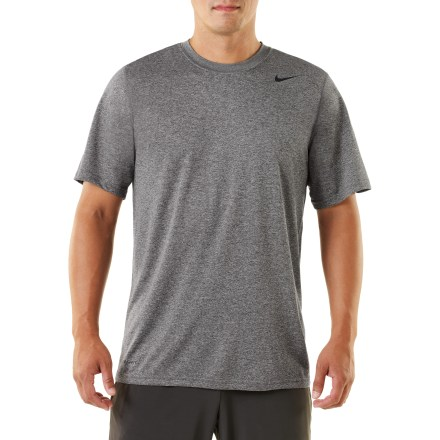 Fitness Make your workout count by going the distance in the Nike Legend Dri-FIT(R) Crew T-shirt. - $14.93