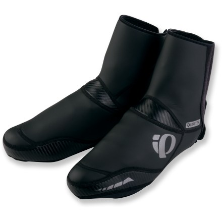 Fitness Pearl Izumi Elite Barrier bike shoe covers keep your feet warm when you're riding in nasty weather. - $34.83