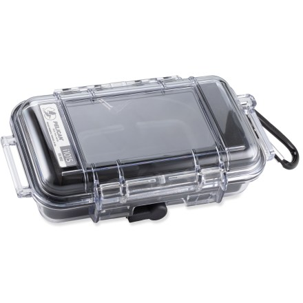 Entertainment The Pelican i1015 case offers water resistant, crushproof and dustproof protection for your iPhone(TM), iPod touch(R), Blackberry(R) and other smart phones. - $29.93
