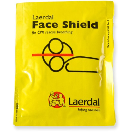 Camp and Hike The REI single-use CPR face shield offers protection to both the rescuer and victim when used properly by individuals trained in cardiopulmonary resuscitation (CPR). - $6.50