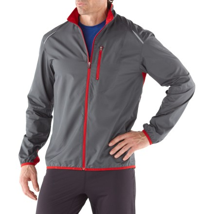 Fitness Weighing in at 6 oz., the REI Packable Fleet jacket offers reliable protection from chilly weather. - $14.83