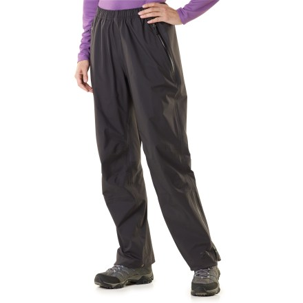 Camp and Hike The women's REI Kimtah pants are an awesome choice for spring and summer backpacking adventures. They offer protection for activities where windy, wet weather is a concern. - $93.83