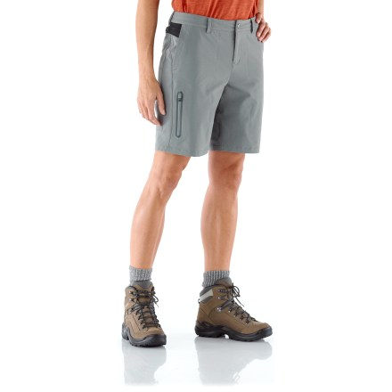 Camp and Hike Adding the REI Venturi shorts to your arsenal of outdoor gear is a smart idea. Tough nylon is water resistant while remaining lightweight, flexible and easy to wear. - $15.83