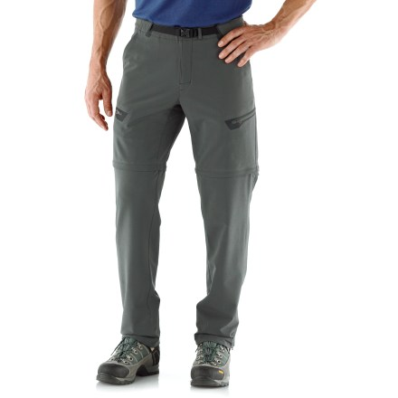 Camp and Hike Get outdoors on your favorite trail with the REI Endeavor Convertible pants. They offer durability and performance with a classic fit to make long hikes more enjoyable. - $53.83