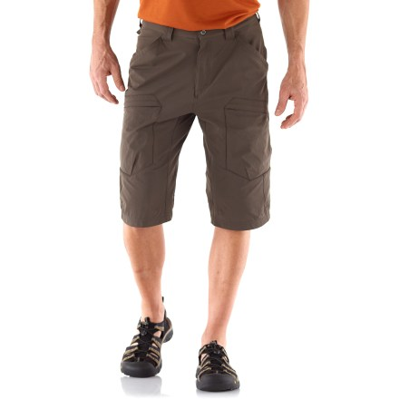 The REI Igneo Long shorts combine outdoor performance features with an urban attitude to keep you looking and feeling good on warm-weather adventures. - $14.83