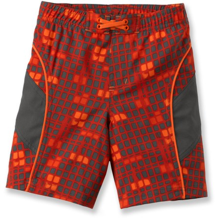 Surf With vivid prints and quick-drying performance, the REI Sea Squirt board shorts will help keep young boys looking cool and feeling dry. - $5.83