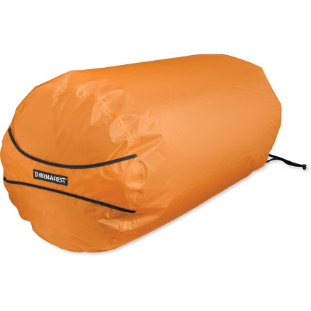 Camp and Hike It's the epitome of versatility. This Therm-a-Rest NeoAir Pump sack is a stuff sack, a pack liner, and a pump for your NeoAir mattress (sold separately)! - $29.95
