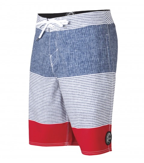 "Surf O'Neill Jacques Boardshorts.  Epicstretch.  20"" outseam shortie boardshort features comfort fly closure; sideseam pockets; back pocket with button closure; woven patch and screened logos.Epicstretch is our most popular stretch fabric.  Not too stretchy; but has enough stretch to be a great performance fabric.  Our most versatile fabric when it comes to surfing; comfort; and just hanging out.  Made with a 130% vertical stretch and 120% horizontal stretch and has a durable water resistant coating for a faster dry time. - $32.99"