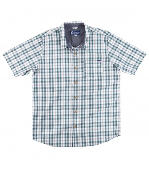 Surf Jack O'Neill Thurston Shirt.  100% cotton yarn dye short sleeve shirt. Classic plaid pattern and a carbon finish for a super soft hand. Faux wood buttons and chambray interior details. Standard fit. - $34.99
