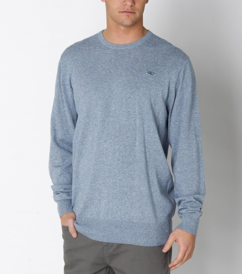Surf Daaaaeee-yyuummm this thing is comfy.  The O'Neill Flapjack Crew is made from 100% combed cotton; twisted yarn jersey crew sweater with silicone softener wash. Standard fit; with logo labels. - $32.99