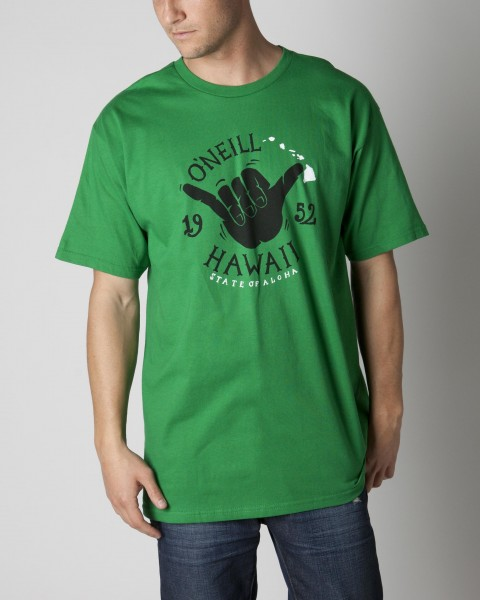 Surf O'Neill Hawaii t-shirt; 100% ringspun cotton; 20 singles basic fit tee with softhand screenprint. - $14.99