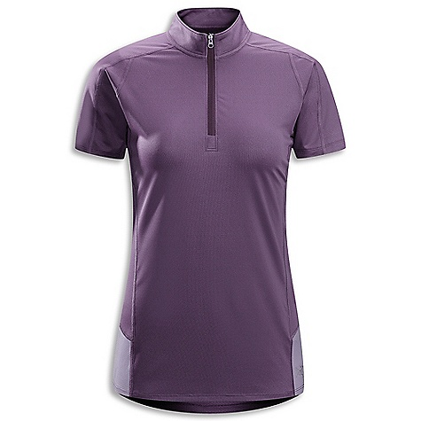 Free Shipping. Arcteryx Women's Kapta SS Zip DECENT FEATURES of the Arcteryx Women's Kapta Short Sleeve Zip Additional length Durable quick dry Crystalis wicks moisture for comfort and to regulate temperature Mesh back panel adds ventilation; zip neck with tall collar adjusts temperature rapidly Reflective blades Strategically placed flat locked seams We are not able to ship Arcteryx products outside the US because of that other thing. We are not able to ship Arcteryx products outside the US because of that other thing. We are not able to ship Arcteryx products outside the US because of that other thing. We are not able to ship Arcteryx products outside the US because of that other thing. The SPECS Weight: M: 4.2 oz / 118.4 g Fit: Athletic, hip length Fabric: Crystalis - 87% polyester, 13% spandex Libro mesh - 100% polyester This product can only be shipped within the United States. Please don't hate us. - $54.95
