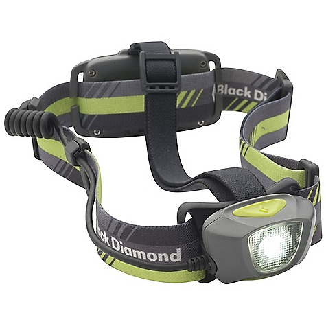Camp and Hike Free Shipping. Black Diamond Sprinter Headlamp DECENT FEATURES of the Black Diamond Sprinter 1 Double Power LED with 75 lumens (max setting) projects a strong, ovalized beam to light the path ahead Red taillight strobe for visibility in urban areas with on/off switch Powered by a lithium polymer rechargeable battery (5-hour USB charge time) Settings include full strength, dimming and strobe Regulated for constant illumination on max brightness setting Protected against water immersion down to 1 m (3.3 ft) for 30 minutes (IPX 7) The SPECS Led Type: 1 DoublePower Max Lumens: 75 Max Distance on Highest Setting: 45 m Max Distance on Lowest Setting: 7 m Max Burntime on Highest Setting: 6 H Max Burntime on Lowest Setting: 42 H Batteries: Rechargeable lithium polymer Weight With Batterie: Battery Enclosed: 3.7 oz / 105 g - $69.95