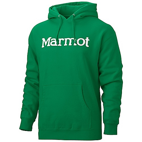 Free Shipping. Marmot Men's 8 Track Hoody DECENT FEATURES of the Marmot Men's 8 Track Hoody Soft, Comfortable, Midweight Pullover Sweatshirt 32's Singles for Soft Hand Feel Jersey Hood Liner Kangaroo Hand Pockets Screen Print Center Front Logo The SPECS Weight: 10 oz / 283.5 g Material: 80% Cotton 20% Polyester Fit: Regular - $54.95