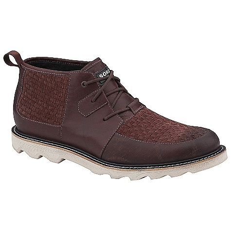 Skateboard Free Shipping. Sorel Men's Mad Desert Shoe DECENT FEATURES of the Sorel Men's Mad Desert Shoe Full gain leather upper Leather lined Leather welt with EVA midsole Molded rubber outsole The SPECS Weight: 15.6 oz / 442.2 g - $179.95