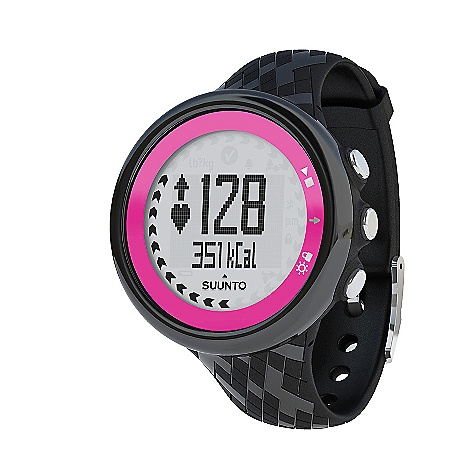 Fitness Free Shipping. Suunto M4 Womens Heart Rate Monitor DECENT FEATURES of the Suunto M4 Womens Heart Rate Monitor Fitness test 3 personal targets to choose from - improving fitness, weight management or free training Daily exercise instructions with ideal duration and intensity Automatically adapting exercise program for the next 7 days Real-time intensity guidance during workout Motivational feedback messages Suunto Dual Comfort Belt: a comfortable textile belt, compatible with most gym cardio equipment and Suunto Fitness Solution Upload exercise data to Movescount.com (with optional Suunto Movestick) Easy to use 9 languages: English, French, Spanish, Italian, German, Dutch, Portuguese, Swedish and Finnish The SPECS Menu-based user interface Operating Temperature: -20degC - +60degC / -5degF - +140degF Selectable metric/imperial units Storage Temperature: -30degC - +60degC / -22degF - +140degF Water Resistance: 30 m / 100 ft Weight: Max. 40 g Backlight Type: Electro-luminescent display Dot-matrix display Chronograph Stopwatch Heart Rate ANT - digital coded heartrate / speed signal Calories: In real time HR in real time Memory Capacity: 1 log and 4 week totals in unit history menu; up to 80 logs in unit's memory (log analysis through Movescount) Heart Rate Belts Suunto Dual Comfort Belt (Analog Coded and ANT Coded): Included PC Software Training data transfer and analysis: Through Movescount.com (with optional Movestick) Power Low battery warning User replaceable battery Special Button lock Languages: Menu in 9 languages (EN, DE, FR, ES, IT, FI, SV, NL, PT) Training and Exercise Guidance ACSM* recommendation based exercise guidance (*American College of Sports Medicine) Automatically adapting training program for the next 7 days (fitness improvement, weight management, free training) Daily exercise instructions Exercise duration and intensity guidance in real time Fitness test Motivating feedback messages Next workout suggestion: ideal duration and intensity Watch 12/24 h Calendar clock Daily Alarms: 1 - $149.00