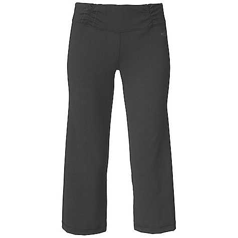 Fitness Free Shipping. The North Face Women's Tadasana VPR Capri DECENT FEATURES of The North Face Women's Tadasana VPR Capri Recycled ShapeShifter fabric contains 86% recycled content by weight Ruched waistband with decorative stitch Concealed key pocket High elastane fabric for supportive fit Regular rise, Wide flattering waistband Wrapped seams for slimming look Fitted through thigh with a slight flare at the cropped knee Imported The SPECS Inseam: 22in. 300 g/m2 88% recycled polyester, 12% Lycra elastane jersey This product can only be shipped within the United States. Please don't hate us. - $64.95