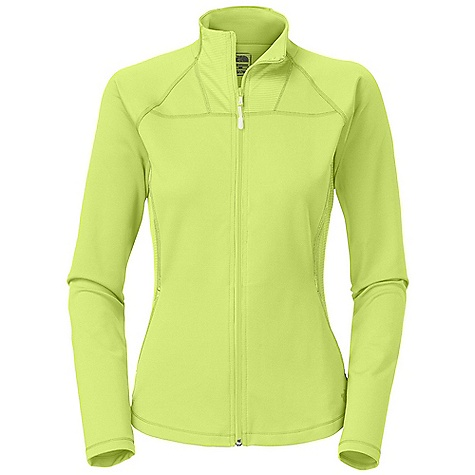 Free Shipping. The North Face Women's Tadasana VPR Jacket DECENT FEATURES of The North Face Women's Tadasana VPR Jacket Recycled fabric Body-mapped ventilation Contrast stitch Shaped hem Two-way zip Mesh ventilation Hand pockets Imported The SPECS Center Back Length: 24.5in. Body: 270 g/m2 90% nylon, 10% elastane Panel: 140 g/m2 90% polyester, 10% elastane drop-needle mesh This product can only be shipped within the United States. Please don't hate us. - $84.95