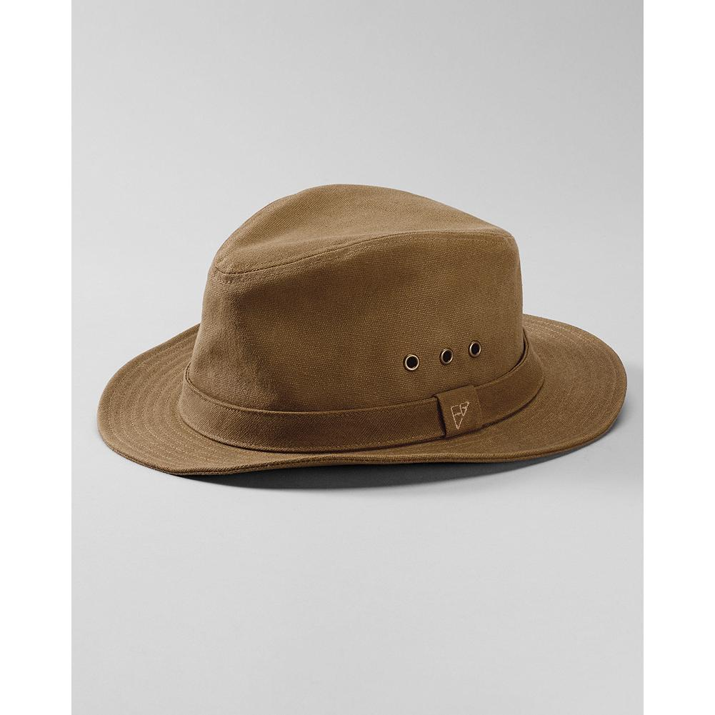Eddie Bauer Waxed Canvas Packer Hat - This rugged hat makes a superb traveling companion, and has just enough casual rumple to look adventurous. Subtle marks and creases from packing add unique character to each hat. - $19.99