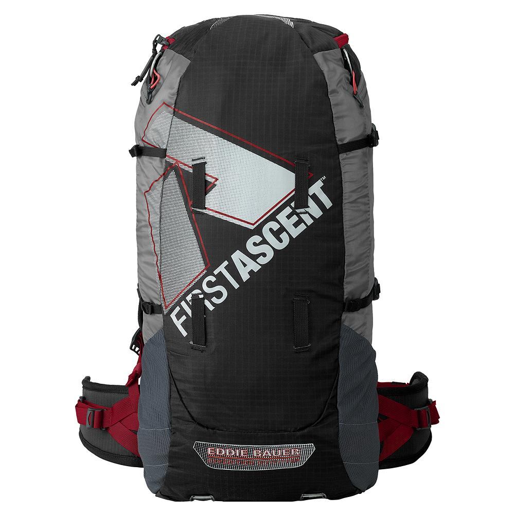 Eddie Bauer Bacon Pack - A pound and a half of pure bliss, this 28-liter technical summit pack pares down weight to the mandatory minimum for lightning-fast ascents or long solo missions. - $99.95