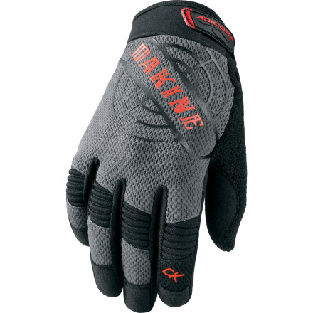 MTB A peewee-sized version of DAKINE's best-selling Covert glove, the Prodigy Glove is built to keep your kid's hands protected from the singletrack to the skatepark.Grippy, durable synthetic suede palm Neoprene knuckle flex panels improve range of motion Hook-and-loop closure ensures a secure fit - $10.48
