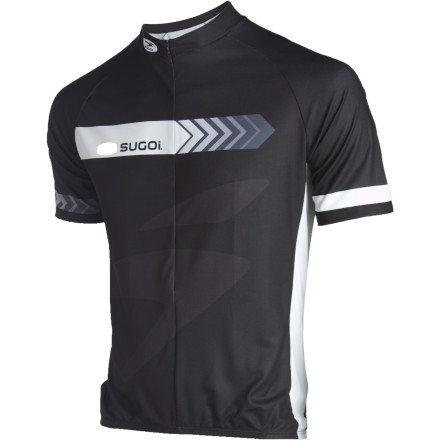 Fitness Leave work behind and slide into the comfy and functional Sugoi Silver Short-Sleeve Jersey to put fun time in on two wheels. Soft FinoTech fabric pulls perspiration from your core as you heat up, while flatlock seams ensure you're as comfortable as possible. - $37.48