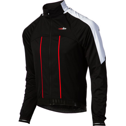 Fitness In cycling, the weather often changes faster than the front of the peloton. And just as you would have to react quickly to a shift in the break, so must you as the rain starts to fall, or the road kicks skyward. Enter the Zero RH+ Adapto Jacket, a lightweight and stash-able solution for all 365 days of weather. Starting at the front of the body, Zero RH+ used the ultralight Airdry Gold 150 fabric for its construction. As you might expect from its name, this material is completely windproof, and accordingly, it staves off the main source of winter chills -- headwind. As for the second principle of this fabric, the dry, Airdry Gold 150 uses a three-layer, open knit construction that maintains a high-level of breathability. Essentially, the fabric creates an internal micro climate that is unique to you. So, during intense aerobic exercise, the material allows excess heat to escape from the insulation layer. And not only does this keep your temperature well regulated, it also decreases moisture accumulation as well. In summary, the Adapto is difficult to penetrate, but breathes well. For added breathability, the rear and side panels of the jacket have been constructed from the IceDry fabric. This material is highly insulating, stretchable, and soft -- all qualities that enhance the jacket's impeccable fit. And on that note, this is where Zero RH+ really shines. The body of the jacket has been pre-shaped on an anatomic form. This means that the cut has been coordinated to the predictability of your body's movements. So, when you move, the jacket moves with you, not against your skin. And to further ensure this, the Adapto jacket features stretch panels at heavy points of articulation. Securing the fit while you're in and out of the saddle are Zero RH+'s proprietary grippers at the front and rear hem. Now, even through the sea of translation, it's obvious that the jacket is 'adaptable. - $75.50