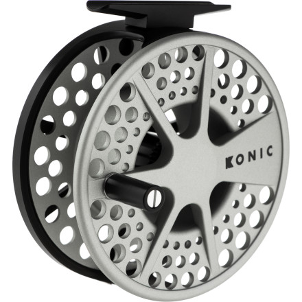 Flyfishing Settling is not in your vocabulary, so go with the Lamson Konic II Fly Reel when you need a lightweight, quality, durable reel that also won't clean out your bank account. The Konic II provides super-smooth performance when you hook a big trout on the Beaverhead or Gunnison. - $139.00