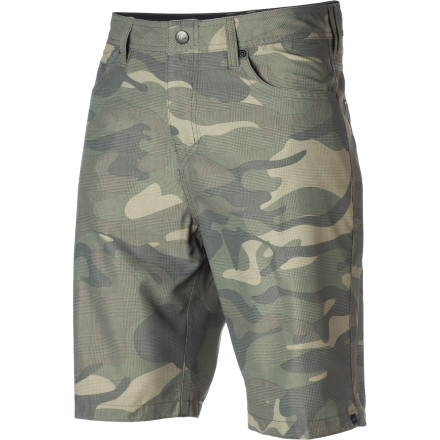 Surf Thanks to its quick-drying synthetic materials and street-worthy style, the Quiksilver Kickdrum Hybrid Short is equally at home on land or sea. - $36.00