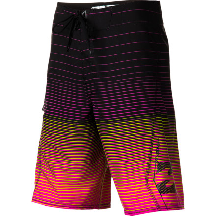 Surf The Billabong All Day Fader Board Short features Platinum X four-way stretch fabric and the water-shedding H2Repel coating to maximize mobility and minimize dry times. - $46.71