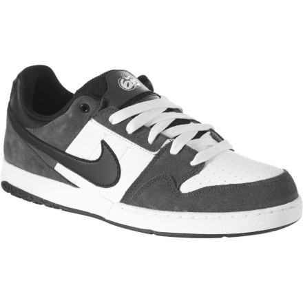 Skateboard The Nike 6.0 Zoom Mogan 2 Skate Shoe offers cushioning, durability, and flexibility for optimal comfort and board feel. A low-pro exterior conceals an airbag cushioning system, while increased layers of material on the upper resist griptape damage. The strategically-profiled rubber outsole shaves unnecessary materials to reduce weight and bring you closer to your deck than ever. - $22.49
