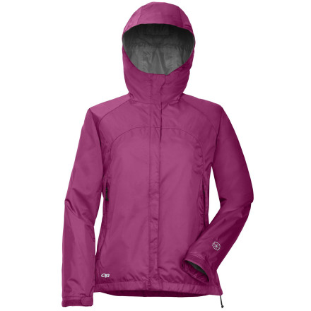 Fitness Outdoor Research added TorsoFlo waist-to-Underarm zips to the Women's Palisade Jacket, so you can adjust your temperature from sweating like crazy to nice and cool. If rainclouds brew on the horizon, just zip the sides closed and let the Palisade Jacket's fully seam-taped shell and adjustable hood keep you dry. This Outdoor Research jacket also includes an internal media pocket that doubles as a stuff sack when the sun comes out and you need to stash this shell in your pack. - $88.95