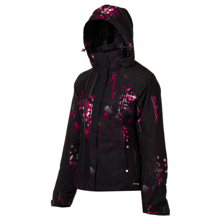 Ski With a flattering, active fit, the Salomon Women's Brilliant Jacket successfully combines ski-worthy tech and head-turning style. The Climapro Storm shell fabric provides a high level of waterproof and breathable weather protection while a healthy dose of Actiloft insulation traps precious body heat. - $244.96
