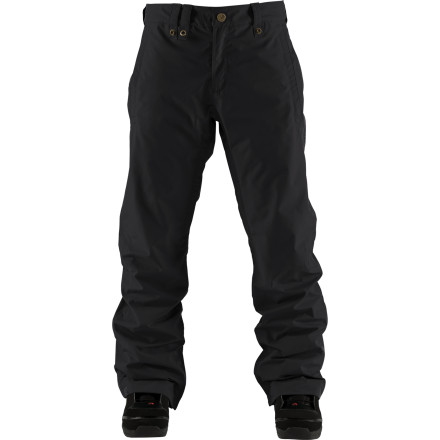 Snowboard With its slim fit, the Bonfire Volt Pant lets you stand out from the crowd a little bit. The Volt isn't all about style, though. This is a full-featured technical snowboard pant. But, while you're out ripping in your feel-good waterproof breathable gear, why not look good, too - $62.98