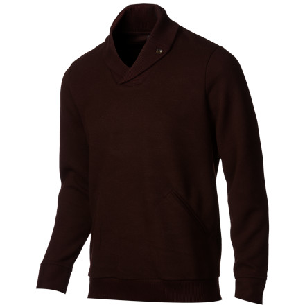 When the wind is nipping at your neck, slip on the Comune Patrice Men's Pullover Sweater to stay cozy. The shawl collar can be popped up to protect against the icy breeze, and it also provides  classy style so you're looking sharp at those holiday parties. - $43.98