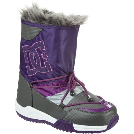 Skateboard Take your look uptown this year with the DC Women's Chalet Suede Boot. This update on a winter classic features a rich suede upper that gets you past the red velvet rope no matter where you party. And if that party's taking place on snow- and ice-covered streets, you can still count on the toasty insulation, faux fur ruff, and grippy cold-weather sole to keep you going. - $66.00